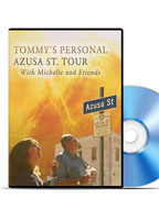 Tommy's Personal Azusa Street Tour DVD